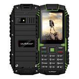 IoutdoorT1 Nivel deIP68impermeable2.4 Pulgadas 2100mAh 2MP 128MB Linterna FM Teléfono de Dual SIM