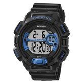 SANDA319LuminousCalendarAlarmCronómetro Reloj digital