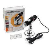 1600X Zoom 8 LED USB Digital Microscope Hand Held Biological Endoscope with Bracket
