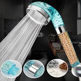 Íon negativo portátil de íman pressurizar a cabeça de chuveiro Banheiro bocal de pulverizador de poupança de água saudável