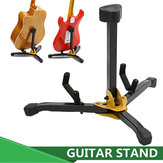 Original Folding Metal Guitar Floor Stand Basses Holder Musical Instrument Rack For One