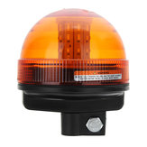 Original 12V-24V LED Rotating Flashing Amber Beacon Tractor Warning Signal Light