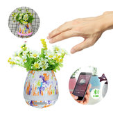 Multi-Pattern Bluetooth Audio Intelligent Music Speakers Flower Pot Toys