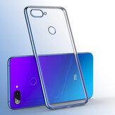باكي(اللون)غطاءخلفيواقي(Soft) شفاف لهواتف شاومي Mi 8 لايت 6.26 انش