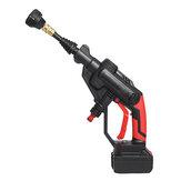 Pompe de buse sans fil multifonctionnelle de tuyau d'eau de pistolet de nettoyeur à pression avec Batterie