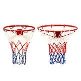Montado en la pared que cuelga canasta de baloncesto aro aro de red metálica