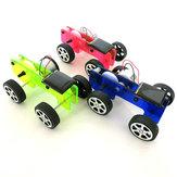 Expérience de physique de voiture actionnée solaire de DIY Kit de jouet de puzzle de science et de technologie