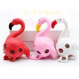 Flamingos Rainbow Squeeze Ball Stress Relief Toy Funny Beads Toy Random Color