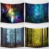 Forest Tree Indian Tapestry strandlaken sprei Blanket Wall Opknoping Throw Mat Decor van het Huis