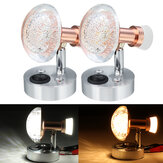 Original 12V 3W+1W Acrylic Interior LED Reading Light Desk Lamp For RV Boat Caravan Camper