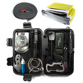 IPRee® T6 14 In 1 Outdoor EDC Survival Tools Case SOS First Aid Kit Multifunctional Emergency Box