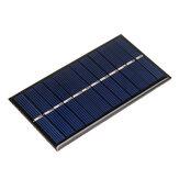 Original 6V 1W 60 * 110 mm Tablero de epoxi de panel Solar policristalino mini para DIY de aprendizaje
