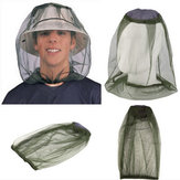 Beekeeping Head Net Mesh Face Protector Mosquito Cap Fly Bug Insect Hat Outdoor Camping