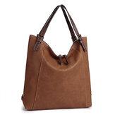 Brenice Women Tote Handbag Vintage Multifuntion Backpack Shoulder Crossbody Bag