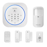 Digoo DG-MAS1 New 433MHz Wireless GSM DIY Home Alarm System Kits IOS&Android APP Intercom Siren