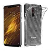 Bakeey™transparenteapruebade golpes Soft TPU cubierta trasera protectora Caso para Xiaomi Pocophone F1