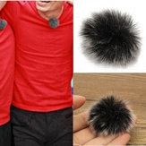 Lapel Microphone Mic Windscreedn Wind Shield Wind Fur Muff For Lapel Lavalier