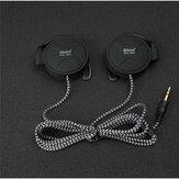 Shini Q940 3.5mm oreille suspendue lourde basse écouteurs stéréo casque pour Iphone Samsung Xiaomi
