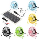 4 Inch 360 Degree Adjustable Black Metal Mini USB Summer Cool Cooling Fan Color Optional for Desktop