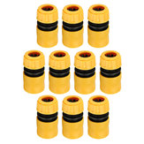 Original 10Pcs 1/2 Inch Water Pipe Joint Quick Connectors Pipe Connector Repair Joint For Garden Hose Fitting