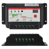 Intelligent 12V 24V PWM Solar Panel Charge Controller Auto Battery Regulator 10A 20A for Optional