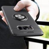 C-KU Protective Case For Samsung Galaxy S8 Plus 360º Rotating Ring Grip Kicktand