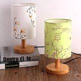 14 * 20cm Vintage E27 support de lampe fleur oiseau lampe abat-jour table plafonnier couverture