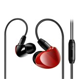 Original 3.5mm Jack Wired Control Earphone Stereo Sound Noise Cancelling Headset with Mic for iPhone Xiaomi