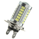 H7 5630 33 SMD White LED Car Lens DRL Fog Headlight Light Bulb