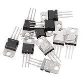 10PCS LM317T TO-220 LM317 TO220 Original IC Adjustable Regulators