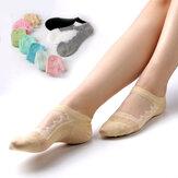 Chaussettes athlétiques antidérapantes pour femme