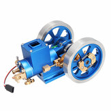 STEM Stirling Engine Full Metal Combustion Engine Hit & Miss Gas Model Engine Gift Collection Toy