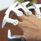 KCASA KC-FP09 Adjustable Stainless Steel Finger Guard Anti-cutting Hand Protector Kitchen Tools