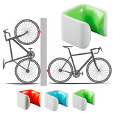 BIKIGHT PC Polycarbon Bicycle Wall Storage Rack Bicycle Wheel Clamp Parking Frame Bike Holder