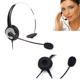 Telephone Noise Cancelling Microphone RJ11 Connector Headset Office Call Centre