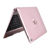 Cas pliable de support de clavier sans fil Bluetooth pour iPad 9.7 pouces 2018/iPad 9.7 pouces 2017/iPad Air/iPad Air 2/iPad Pro 9.7 pouces