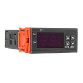 STC-1000Incubateuràthermostatdecontrôleur de température numérique LED 110V / 220V / 12V / 24V 10A 2 avec contrôleur de chauffage et de refroidissement
