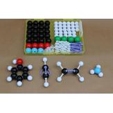 Original 136PcsKitdemodelosdeestructura molecular de química Química general y orgánica Átomo Enlaces Moléculas Médico