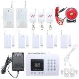 K05 PSTN 99 Zones Wireless PIR Home Security Burglar Alarm System Auto Dialer