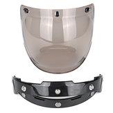 Lentille ouverte de visière de bulle de casque de moto de visage pour le casque de jet de Harley