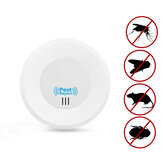 Loskii HP-220 Home Indoor Electronic Plug in Ultrasonic Pest Control Mosquitoes Mice Pest Repeller with Night Light