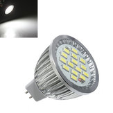 10X MR16 6.4W 480-530LM White SMD 5630 LED Spotlightt Bulb 10V-18V AC