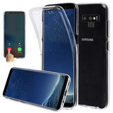 Full Body Front & Back Cover Étui de protection transparent pour écran tactile pour Samsung Galaxy Note 9