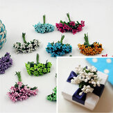 12pcs Artificial Simulation Berry Flower Headwear Garlan Gift Party Decoration