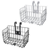 BIKIGHT Bicycle Front Basket Mesh Lift Off Carrier BLACK Cruiser Commuter Bike
