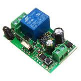 1pc 315MHz / 433MHz 220V 10A Interruptor inalámbrico de relé Control remoto de 1CH canales Receptor