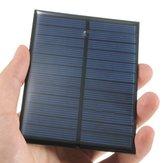 Panel Solar Mini de 6V 1.1W de Monocristalino de 200mA Panel Fotovoltaico
