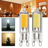 G9 3W COB 260LM Pure White Warm White Glass LED Light Bulb AC110V AC220V
