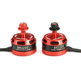Racerstar Racing Edition 2205 BR2205 2300KV 2-4S Brushless Motor Red for 220 250 RC Drone FPV Racing