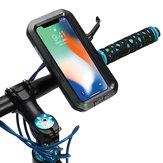 IPX8 Impermeable Titular de manillar de bicicleta / bicicleta de protección Caso para iPhone X